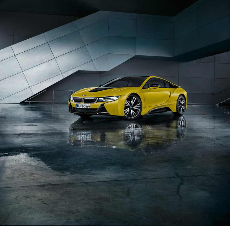 BMW i8 Protonic Frozen Yellow Edition 3